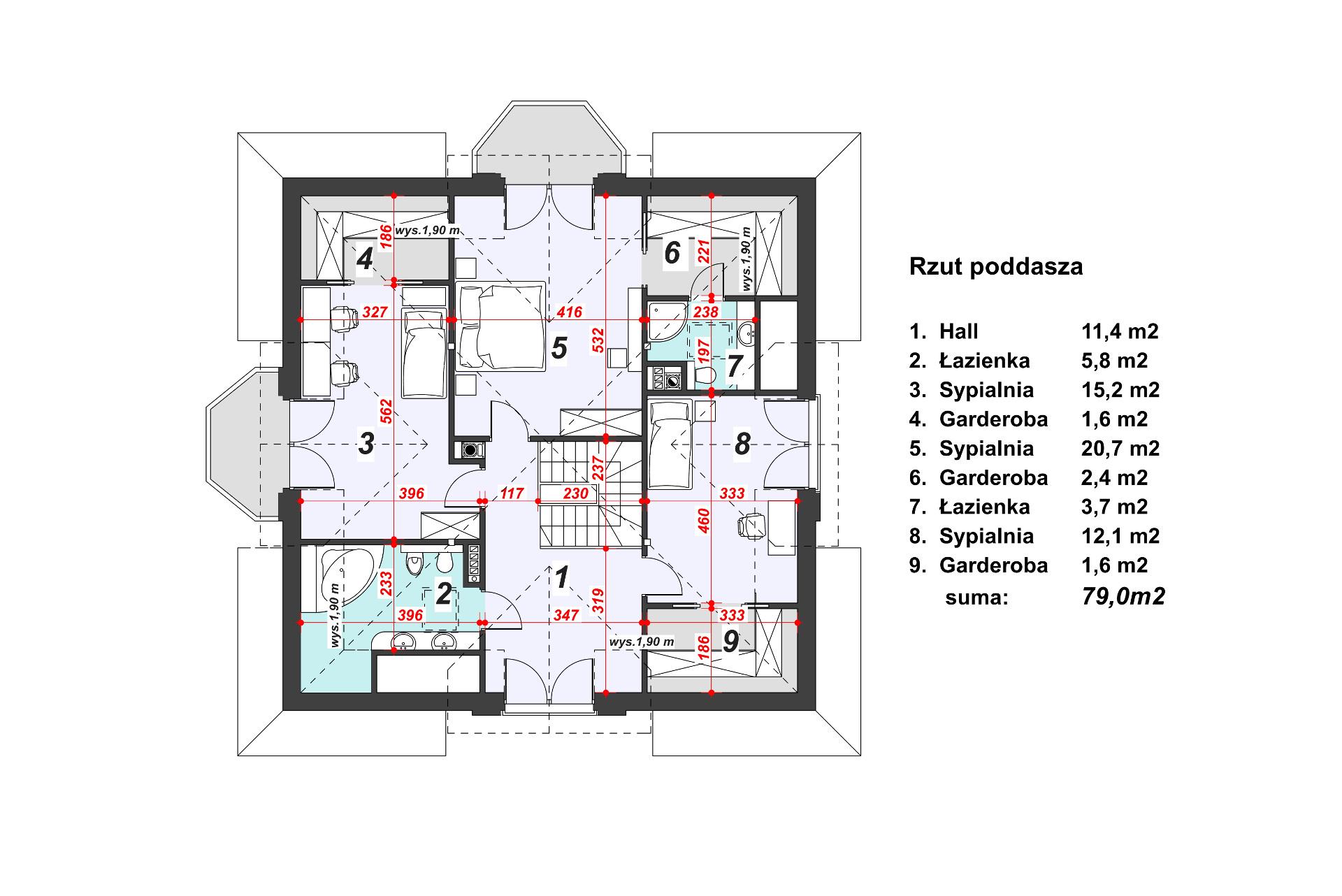 projekt-domu-Tallasea-rzut-poddasza-wymiary.jpg